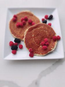 Healthy Gluten Free Pancakes